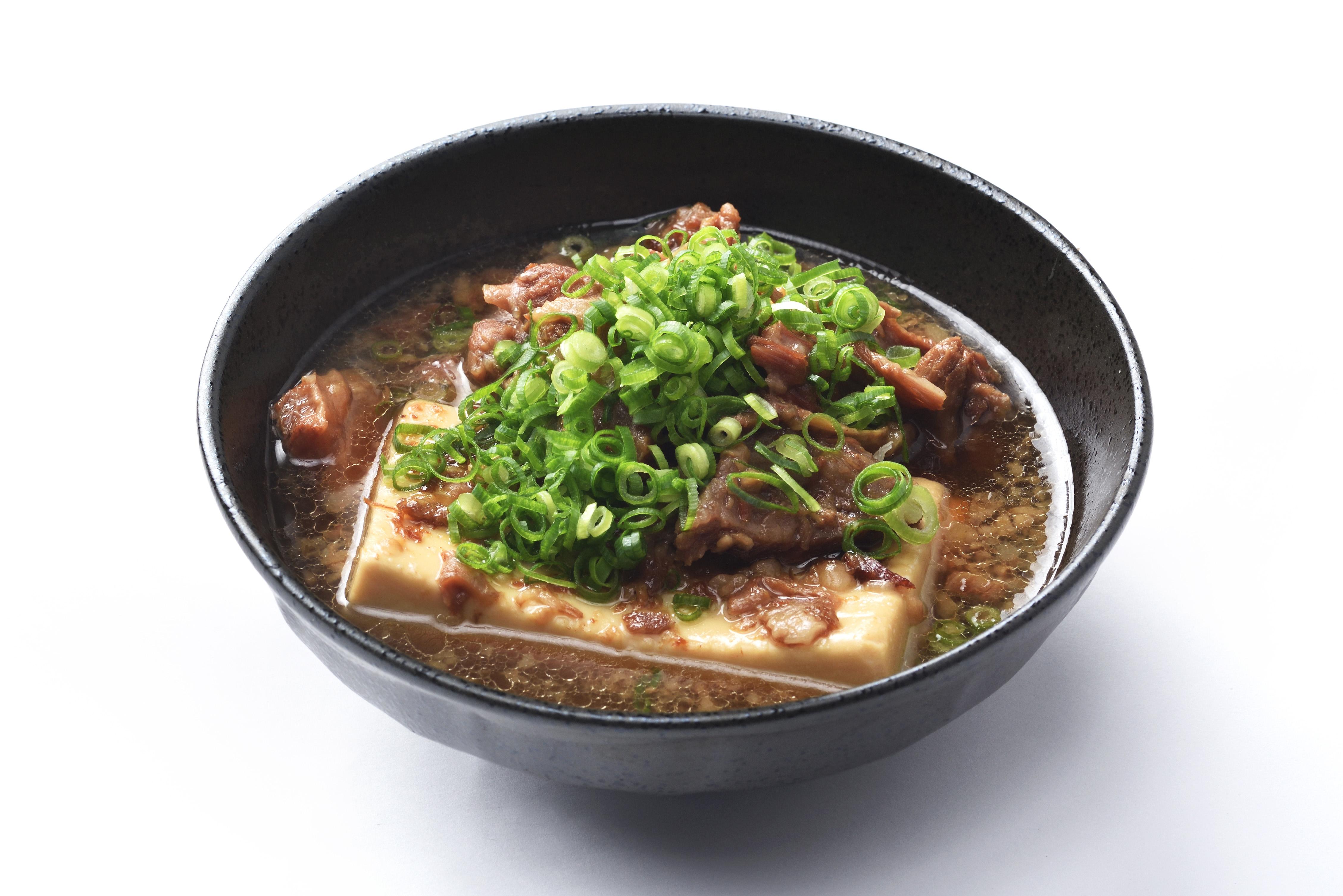 牛すじ豆腐の煮込み
